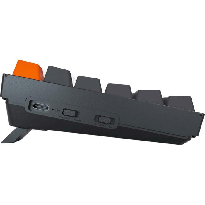 Клавіатура бездротова KEYCHRON K2 White Backlight Gateron Red Hot-swappable Switches