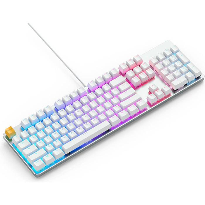Клавіатура GLORIOUS GMMK Full Size White Ice Edition (GLO-GMMK-FS-BRN-W)