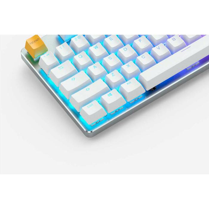 Клавіатура GLORIOUS GMMK Tenkeyless White Ice Edition (GLO-GMMK-TKL-BRN-W)