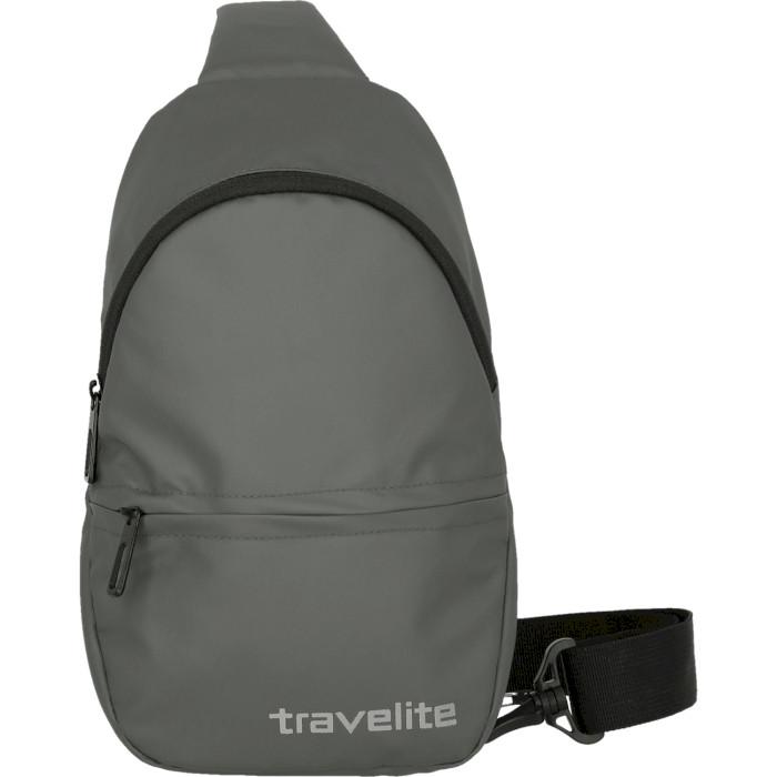 Рюкзак-слинг TRAVELITE Basics Crossover Anthracite (096313-04)