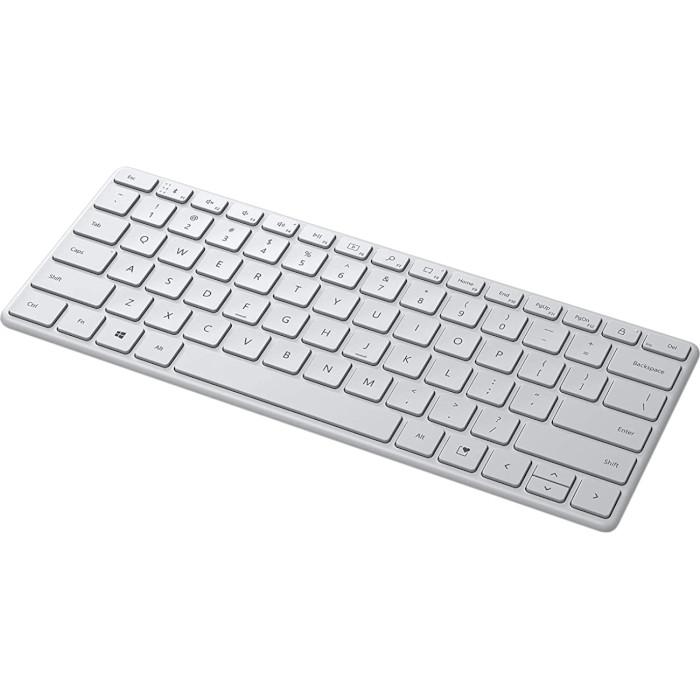 Клавіатура бездротова MICROSOFT Designer Compact Keyboard Glacier (21Y-00041)