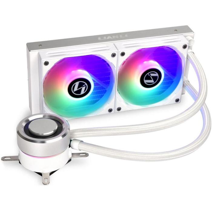 Система водяного охлаждения LIAN LI Galahad AIO 240 White (G89.GA240A.00)