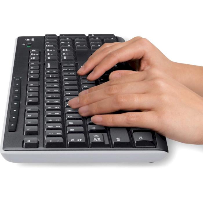 Клавіатура бездротова LOGITECH K270 Wireless (920-003757)
