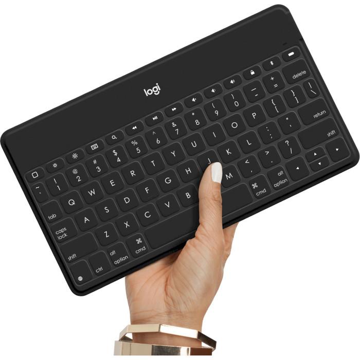 Клавіатура бездротова LOGITECH Keys-To-Go RU Black (920-010126)