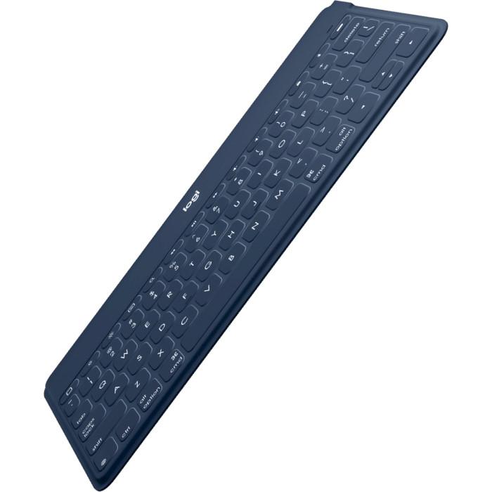 Клавіатура бездротова LOGITECH Keys-To-Go RU Classic Blue (920-010123)