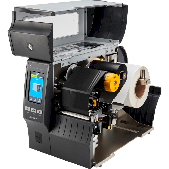 Принтер етикеток ZEBRA ZT411 USB/COM/LAN/Wi-Fi/BT (ZT41142-T0E0000Z)