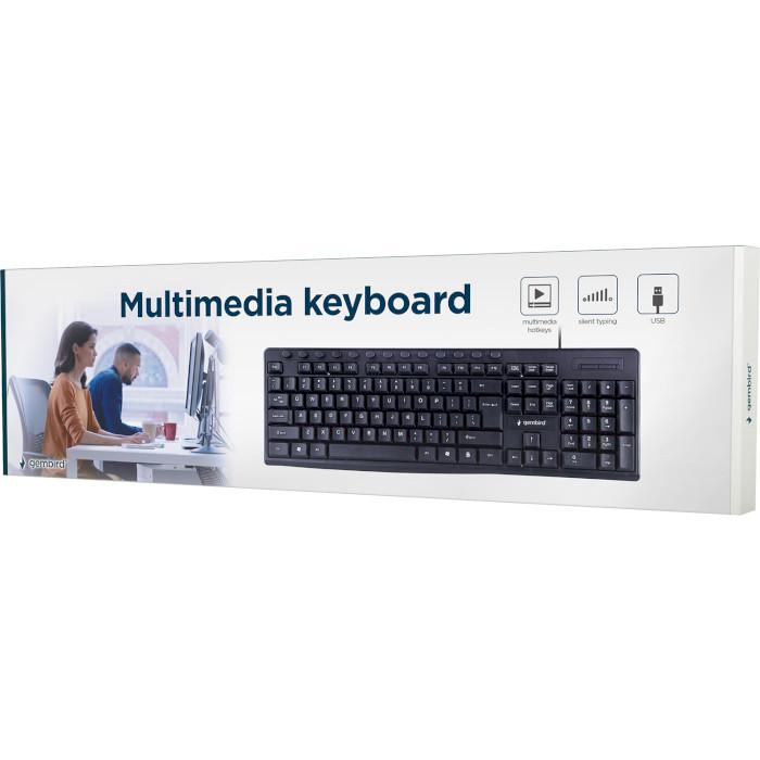 Клавіатура GEMBIRD KB-UM-107-UA