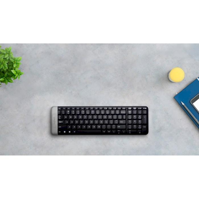 Клавіатура бездротова LOGITECH K230 Wireless (920-003348)