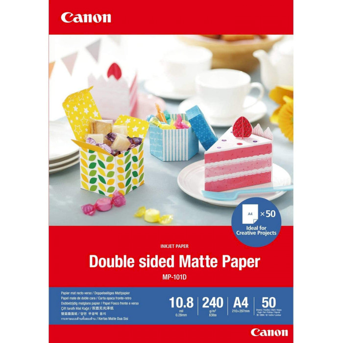 Папір двосторонній CANON Double-Sided Matte Paper MP-101 A4 240г/м² 50л (4076C005)