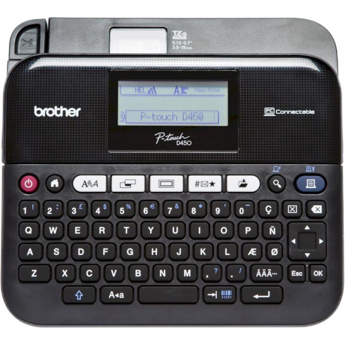 Принтер наліпок BROTHER P-Touch PT-D450VP USB