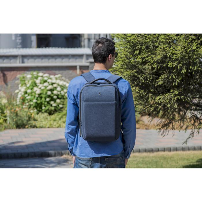 "Рюкзак 2E Melange 16"" Blue (2E-BPN9166NV)"