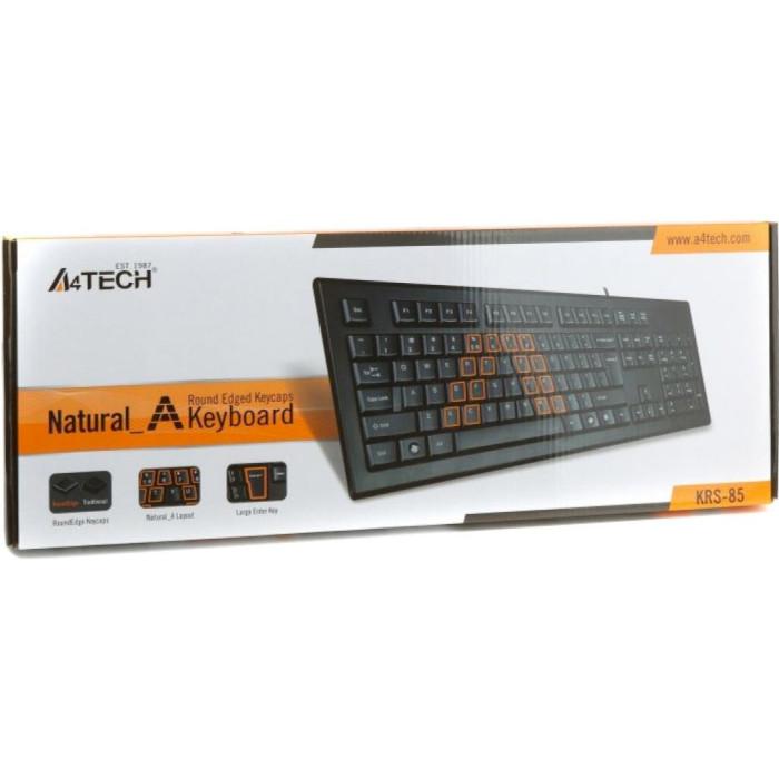 Клавіатура A4TECH KR-85 PS/2 Black