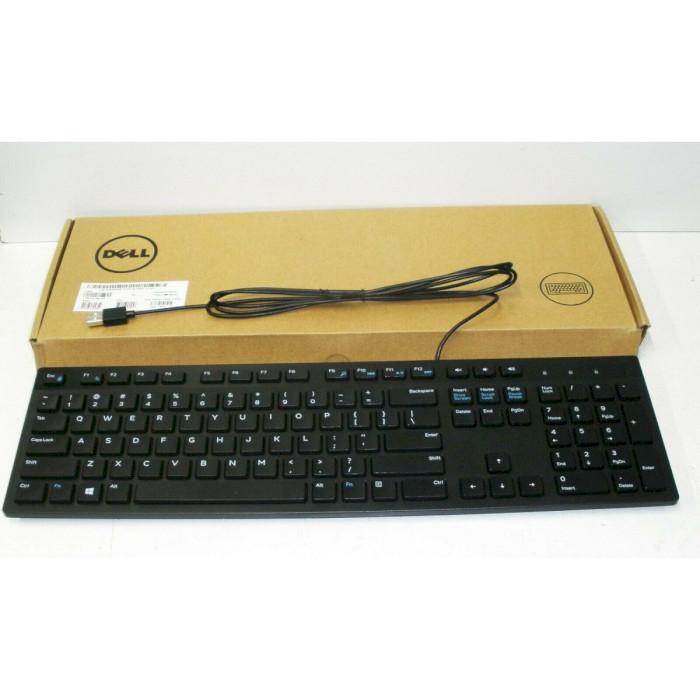 Клавіатура DELL KB216 Black (580-ADGR)