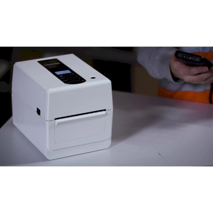 Принтер етикеток TOSHIBA BV410D-TS02-QM-S