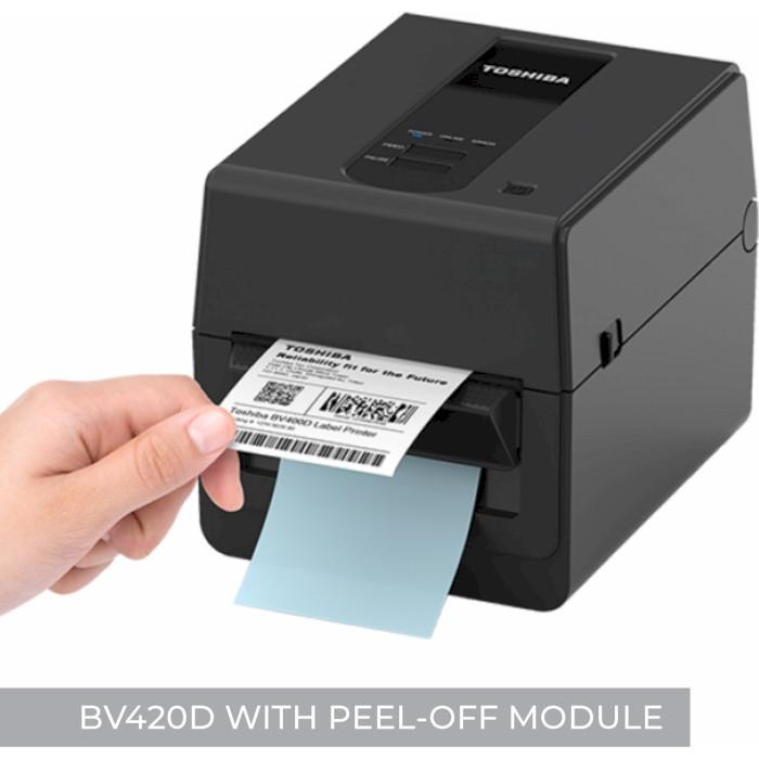 Принтер етикеток TOSHIBA BV420D-TS02-QM-S USB/COM/LAN
