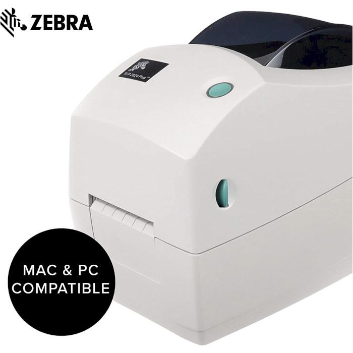 Принтер етикеток ZEBRA TLP2824 Plus (282P-101120-000)