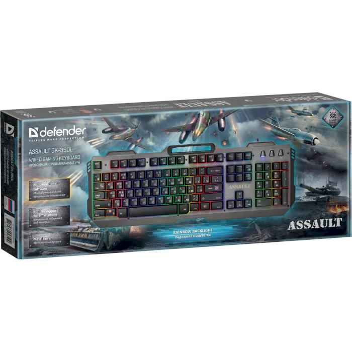 Клавіатура DEFENDER Assault GK-350L (45350)