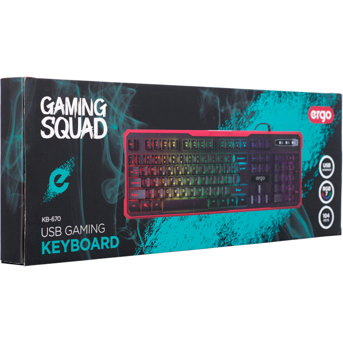 Клавіатура ERGO KB-670
