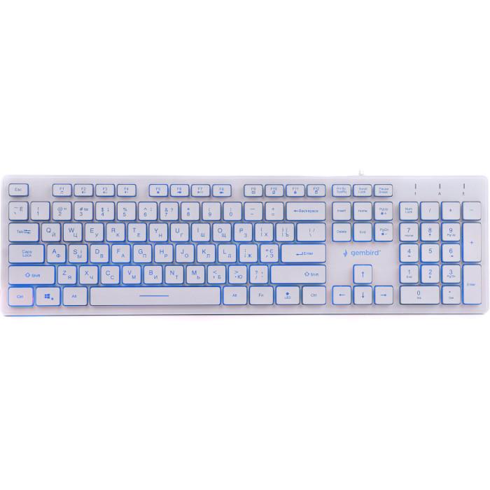Клавіатура GEMBIRD KB-UML3-01-W-UA