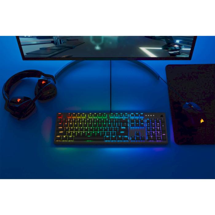 Клавіатура CORSAIR K60 RGB Pro Low Profile (CH-910D018-RU)