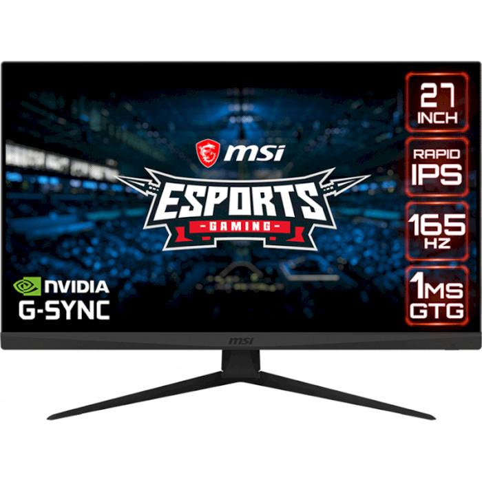 Монітор MSI Optix G273QF/Уцінка (9S6-3CA81A-046)