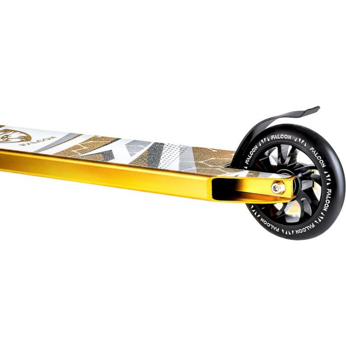 Самокат трюковий FALCON Pro Black/Gold (FAL-0004)