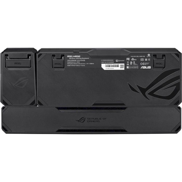 Клавіатура бездротова ASUS ROG Claymore II Red Switch (90MP01W0-BKRA00)