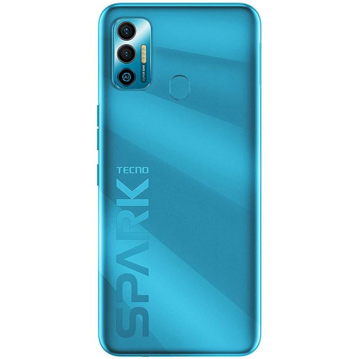 Смартфон TECNO Spark 7 4/128GB Morpheus Blue