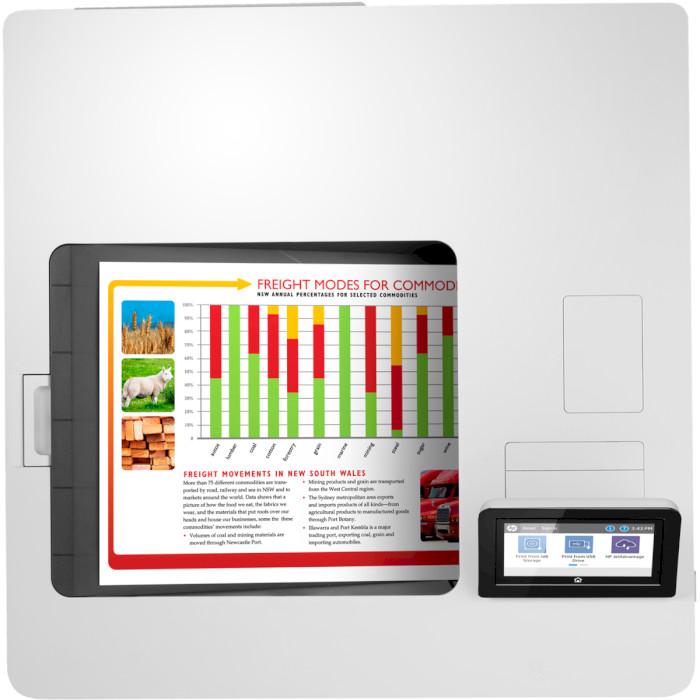 Принтер HP Color LaserJet Enterprise M555dn (7ZU78A)