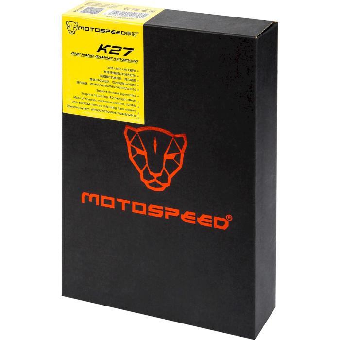Кейпад MOTOSPEED K27 Red Switch (MTK27MR)