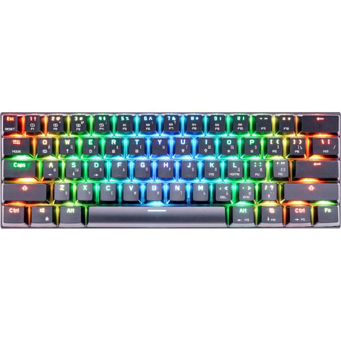 Клавіатура бездротова MOTOSPEED CK62 Red Switch Black (MTCK62BMR)