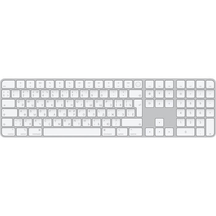 Клавіатура бездротова APPLE Magic Keyboard with Touch ID and Numeric Keypad (MK2C3RS/A)